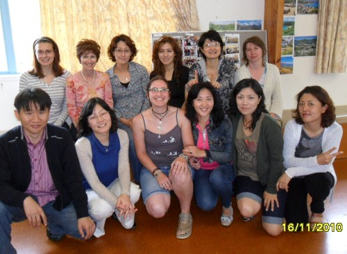 Di with the 2010 Pre-Intermediate class