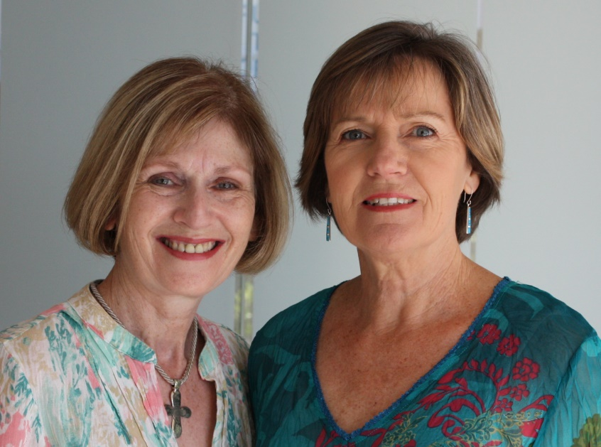 Picture of Di Evans and Linda Rein